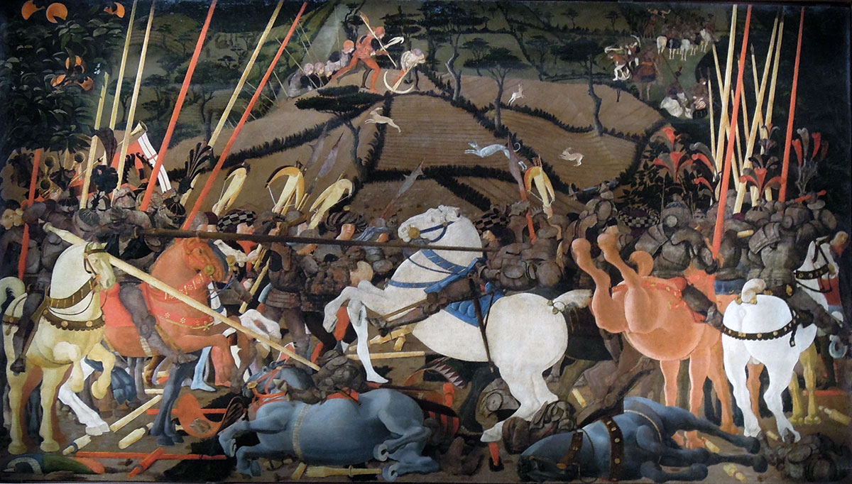 Paolo Uccello Battaglia di San Romano - Uffizi